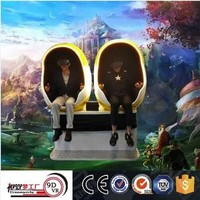 Amusement rides interactive movies 9d egg vr cinema 9d vr cinema equipment virtual reality