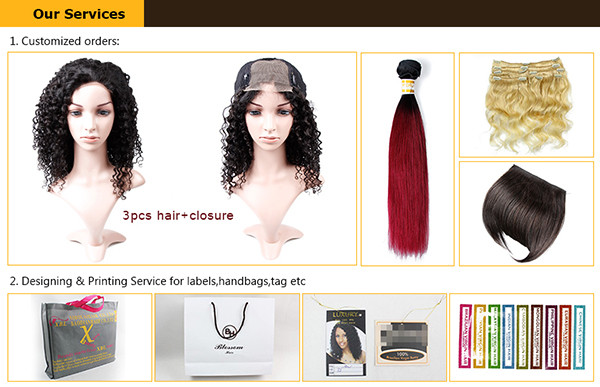 JP hot sale style frontal lace closure with bundles