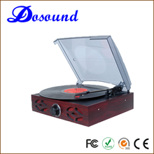 Classic Vintage Design!!! Antique Simple Turntable& Vinyl Record LP& Gramophone with PC Link