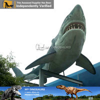 My Dino-marine animal free model 3d fiberglass shark