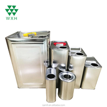 0.5L~25L Olive Oil Tin Cans Metal Tin Can Edible Cooking Oil Can