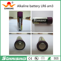 LR6 1.5V/360min AA Super Alkaline Dry Battery for MP3, toys etc