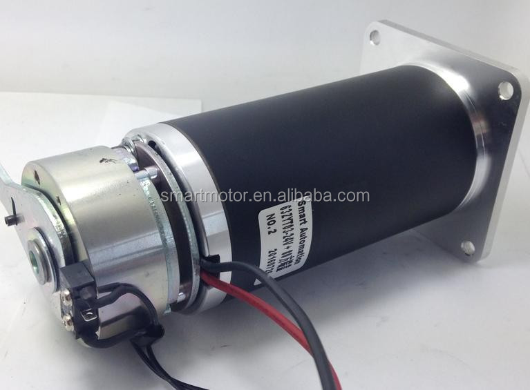 63mm 24v 200w 4500rpm Brushed Dc Motor, used for mobility scooter / E-scooter