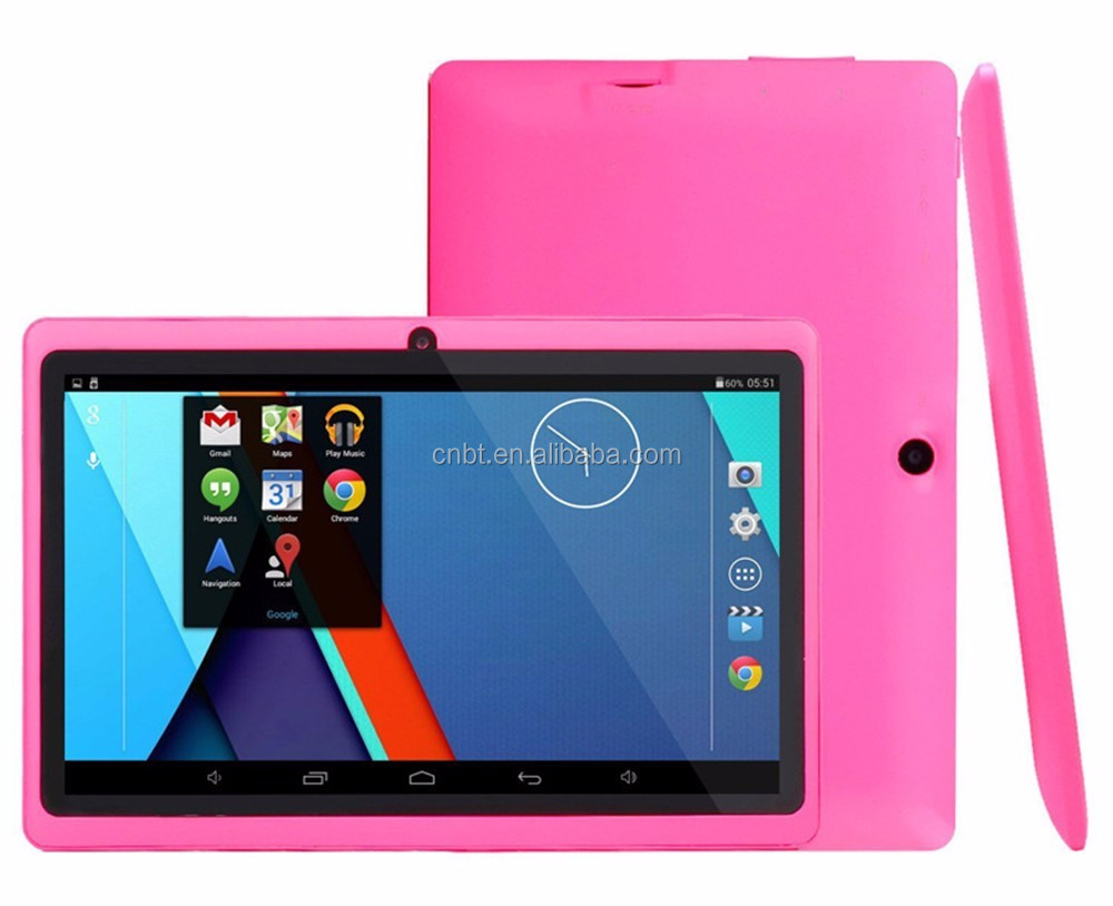"7"" Tablet PC Google Android 4.4 Quad Core two Camera 512MB Ram; 16 GB Rom WiFi Bluetooth Tablet PC"