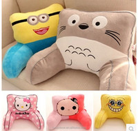 Lovely cartoon design kids baby back sofa coccyx cushion wholesale