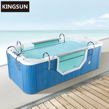 Adult And Children Blue Large Outdoor Hydro Bathtub Spa Swimming Pool