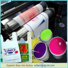 water-based inks for plastic bags print, china largest producer of water based inks