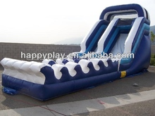 CE inflatable slide water park inflatable wet slide
