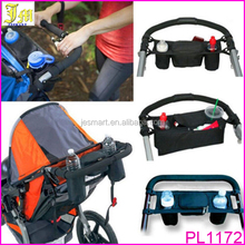 High Quality New Cup Bag Stroller Organizer Baby Carriage Pram Buggy Cart Bottle Bag Stroller Accessories Car Bag