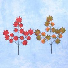 Non - pollution waterpoof exquisite artificial maple tree leaves