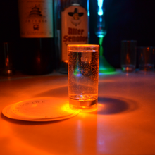 Good promoted led flashing shot glass hot sale