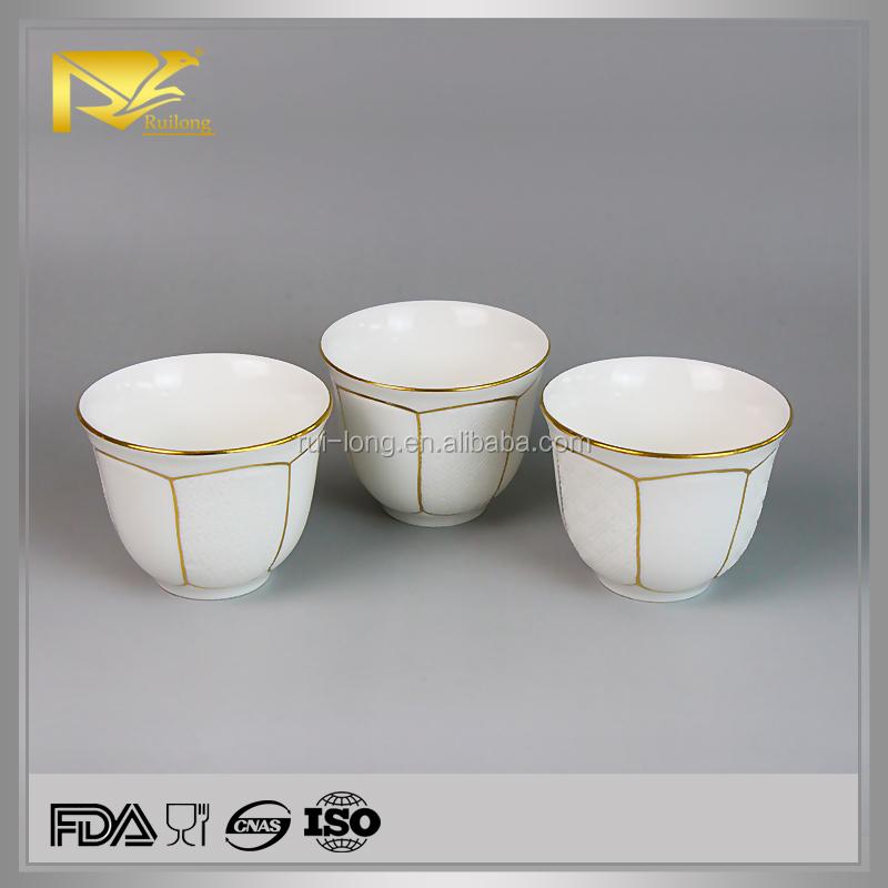 China Wholesale Mini Kawa Cup Ceramic Coffee Mug Without