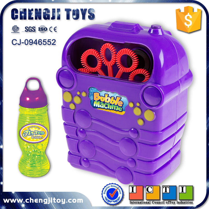Non toxic bubble water game electric toy bubble machine