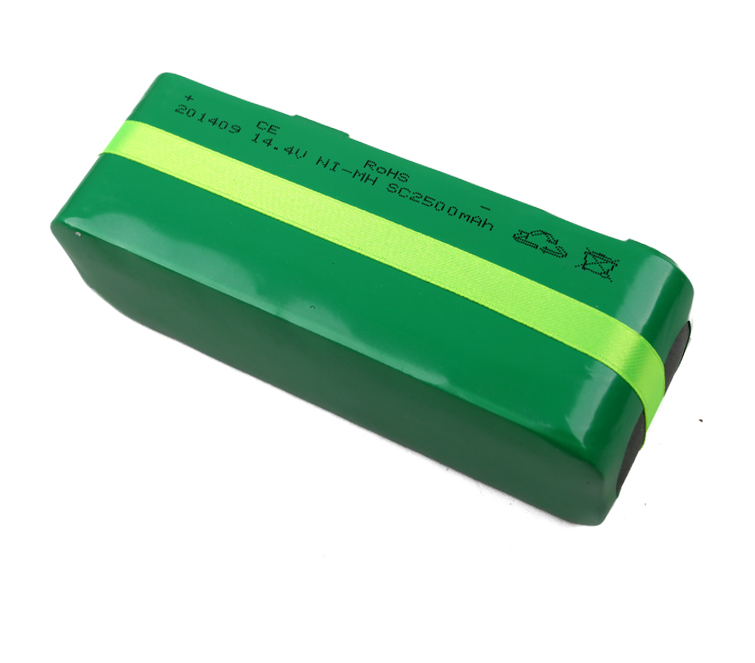 Geilienergy SC 14.4V 2500mah Ni-MH Rechargeable Battery Packs