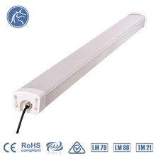 5 years warranty 130LM/W IP65 residential Led Triproof Light 50000 hrs