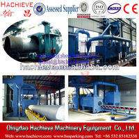rust moving sandblasting machine and external pipe cleaning machine