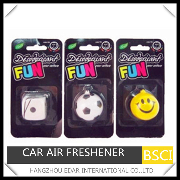 Fun toy hanging car air freshener