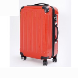 JY302 abs/pc trolley bag/trolley luggage with 4 universal wheels