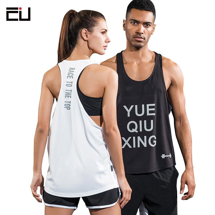 Custom Printed Deep Cut Singlets Unisex Bulk Crop Stringer Gym Mens Tank Top a2f0753ad852