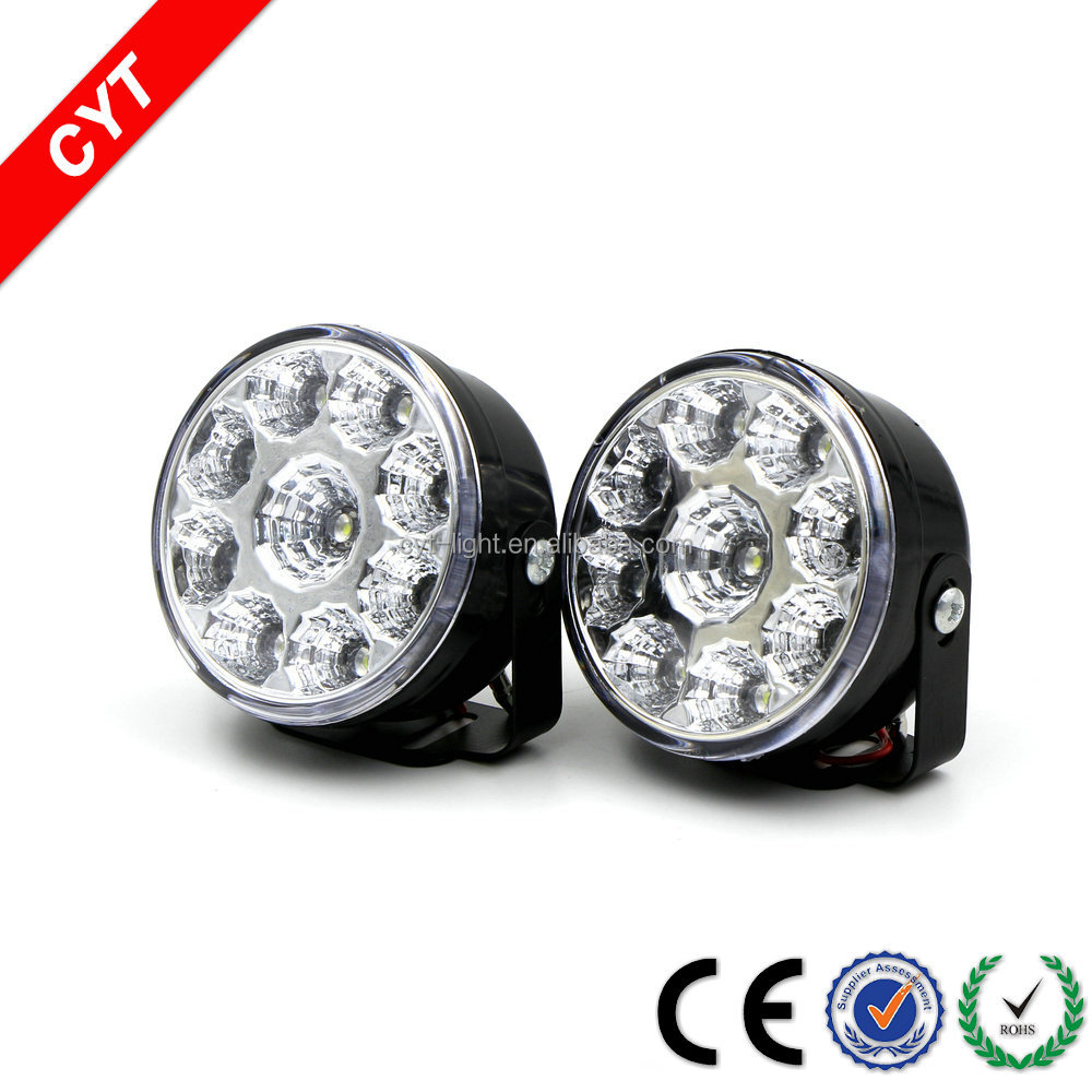 CYT IP67 15W 12V 6000K Auto/Motorcycle LED light Daytime running light