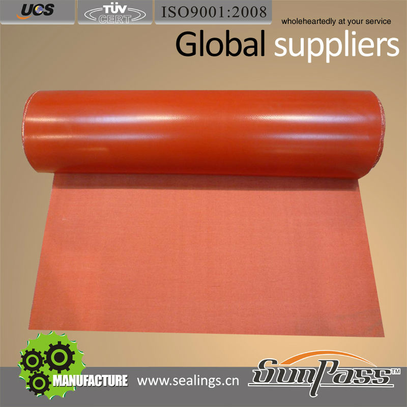 House Insulation Types Of Fire Blanket Fabrics Silicone Coated Glass Fiber Fabric
