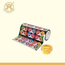PP/PET/ tray lidding film for plastic cup of food packaging