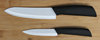 "OL009 ceramic knife set with 4"" paring knife and 6"" chef knife"