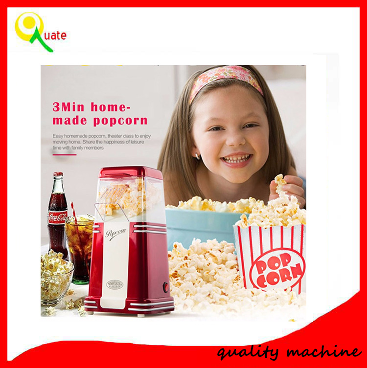 2016 hot sell high quality air electric mini popcorn maker 220v machine as seen on tv