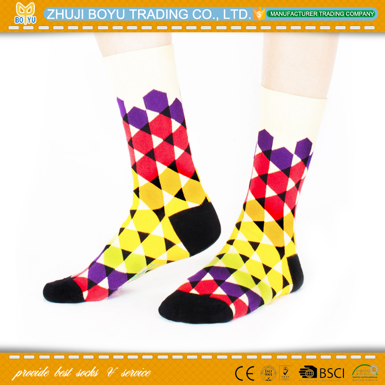 BY-0240 fancy socks for women