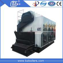 DZL 1.4Mw 2.8 Mw 4.2MW Coal / Wood Pellet Fired Hot water Boiler for Heating