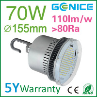 Cool white 6000k led highbay light 70w 7000lm internal driver with Good price