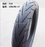 high quality street motorcycle tyre 100/80-17