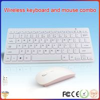 2.4g laptop usb mini wireless keyboard and mouse combo
