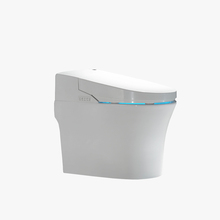 single flush S-trap one piece intelligent toilet