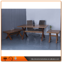Good Price Solid Wood 4 Seater Dining Table Wood