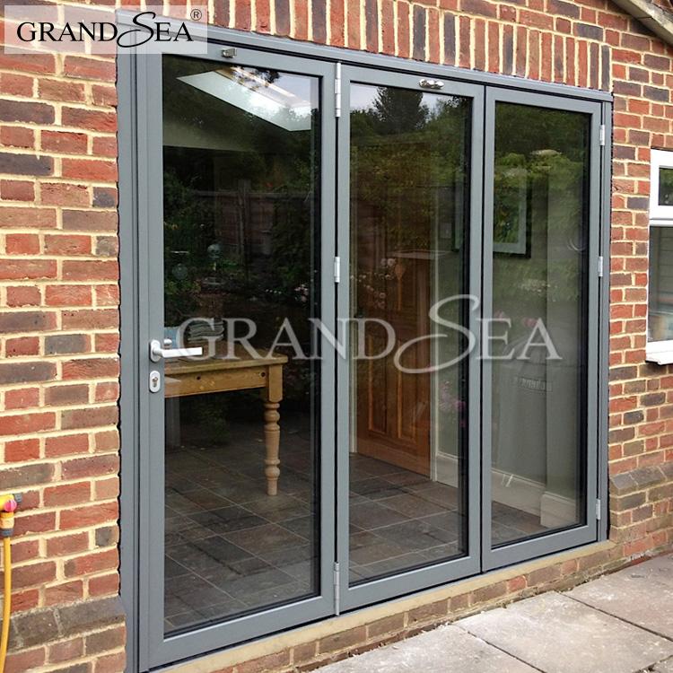 Aluminium Bi Folding Sliding Glass Doors Patio Doors Buy Bi