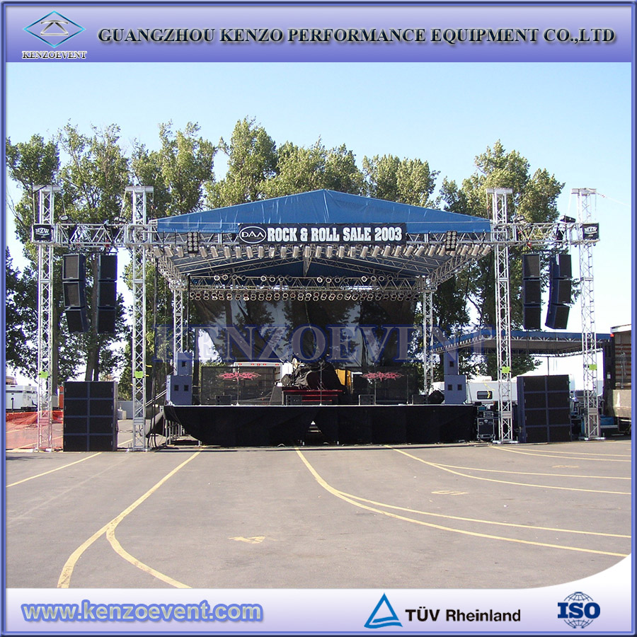Cheap used aluminum truss concert stage truss for sale for Cheap trusses for sale