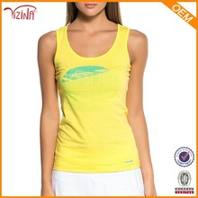 Running Singlet Custom Design Wholesale Loose Bamboo Tank Tops For Women