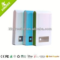 A Battery Power Bank/Dual USB 3.7v li ion battery charger