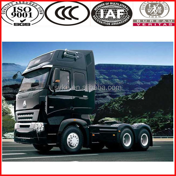Volvo Cabin Sinotruck Big Towing Weight Tractor Trucks 6x4