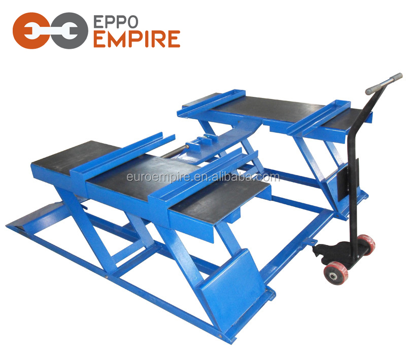 Factory price cheap hydraulic small car lift/ smart used motorcycle lifts/used motorcycles car scissor lift