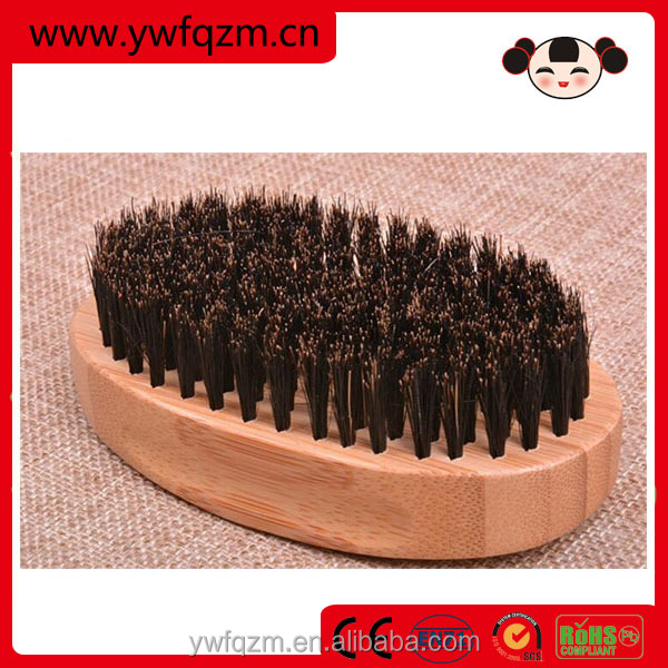 New item 100% bristle custom logo bamboo beard brush