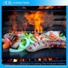Good Reputation High Temperature Ptfe Coated non-stick grilling bbq mat
