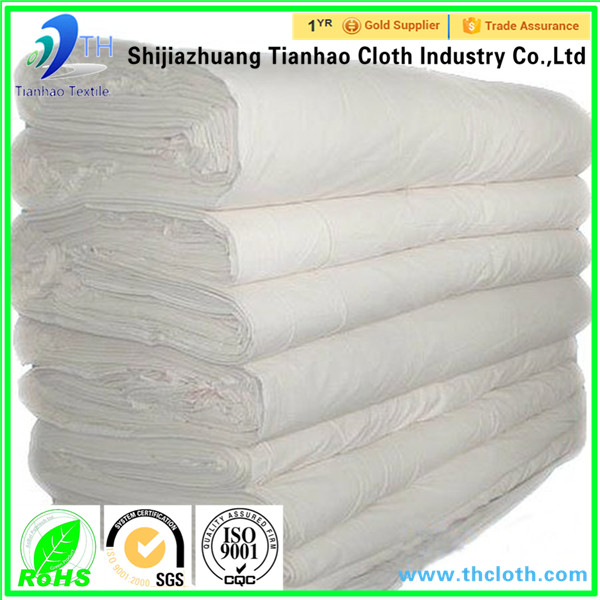 china hot sale poly poplin fabric white/fabric wholesale in market dubai