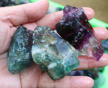 Raw Natural Colourful Fluorite Crystal Gem Stone Rough Rock Display Minerals Wholesales Price. CDHC