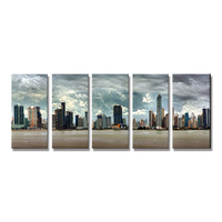 Latest designs 3d painting picture landscape oil painting on canvas for wholesale