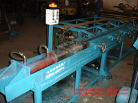 without heading peeling machine for brass bar production line