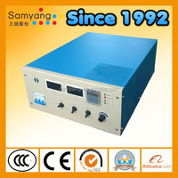 Panel control low running cost 500 amps electroplating rectifier with IGBT air cooling