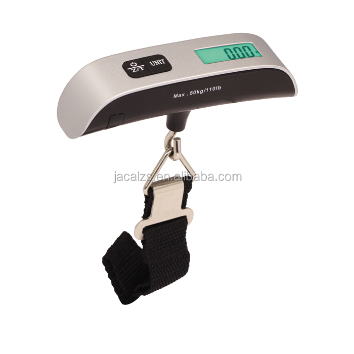 Mini Digital Luggage Scale Hand Held LCD Electronic Scale Electronic Hanging Scale 50kg Capacity Weighing