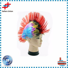Multi Color Mohawk Wig for Fancy Party Dress Costume